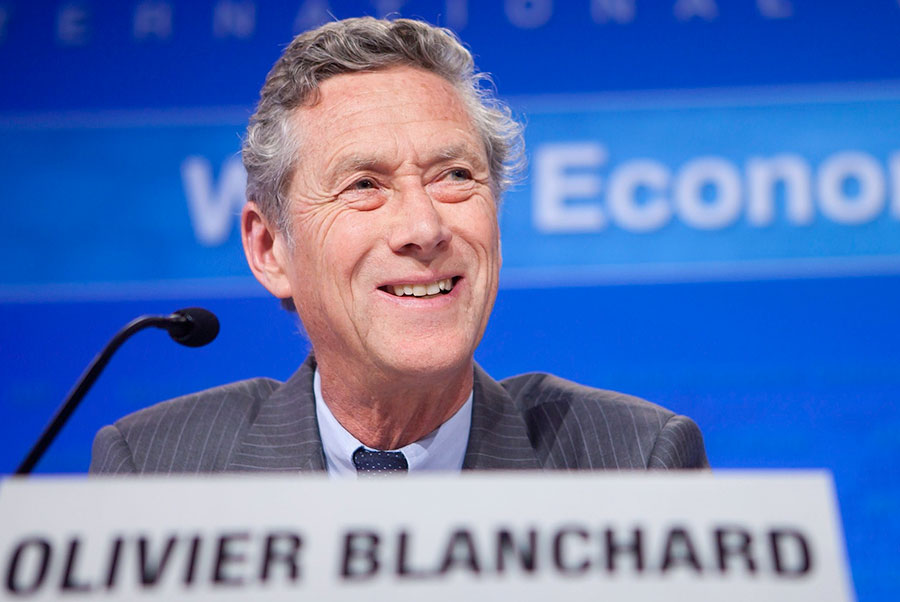 Olivier Blanchard, economista jefe del Fondo Monetario Internacional.