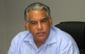 Osiris Ramírez Ponce de León, vicepresidente ejecutivo de la Asociación Dominicana de Agentes de Aduanas (ADAA).