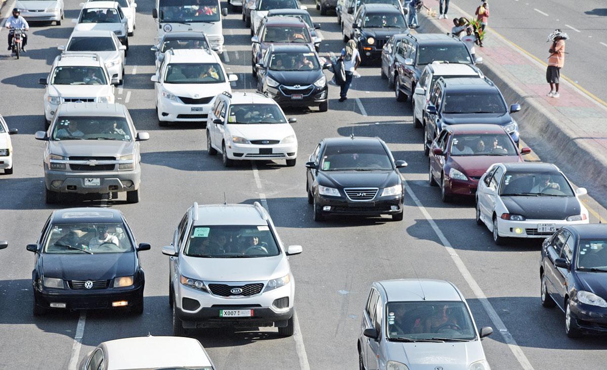 parque vehicular dominicano circulacion