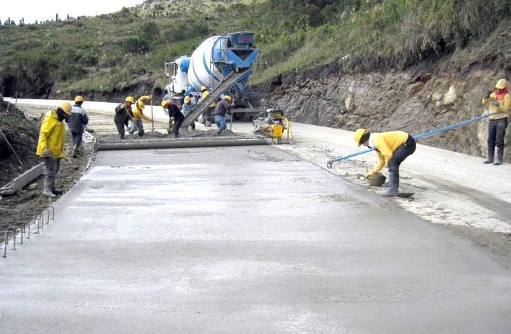 El pavimento de concreto es alternativa para obras viales for Pavimento de cemento