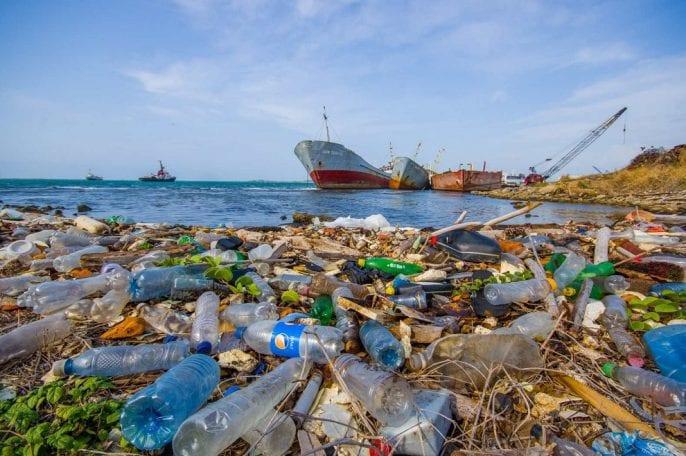 plastico en el oceano