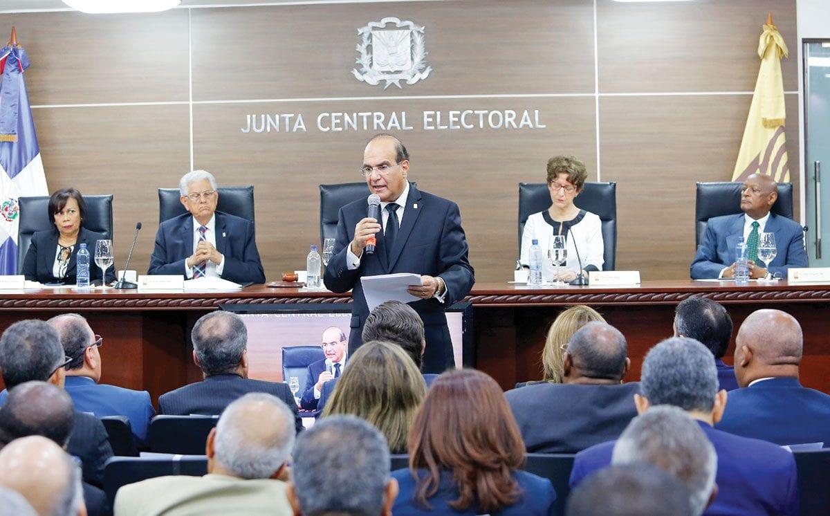 pleno junta central electoral ley de partidos