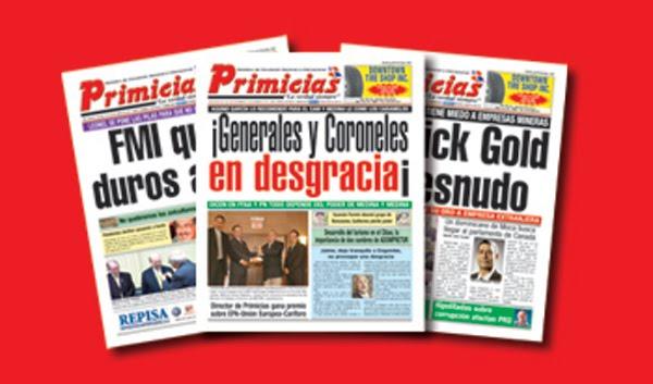 Desconocidos jackean periódico digital Primicias