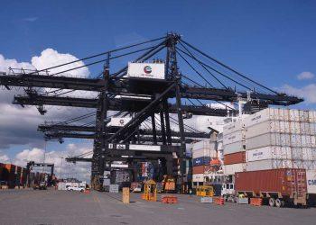 El tráfico de contenedores de EEUU a China bajó en 14% en enero-septiembre 2020.