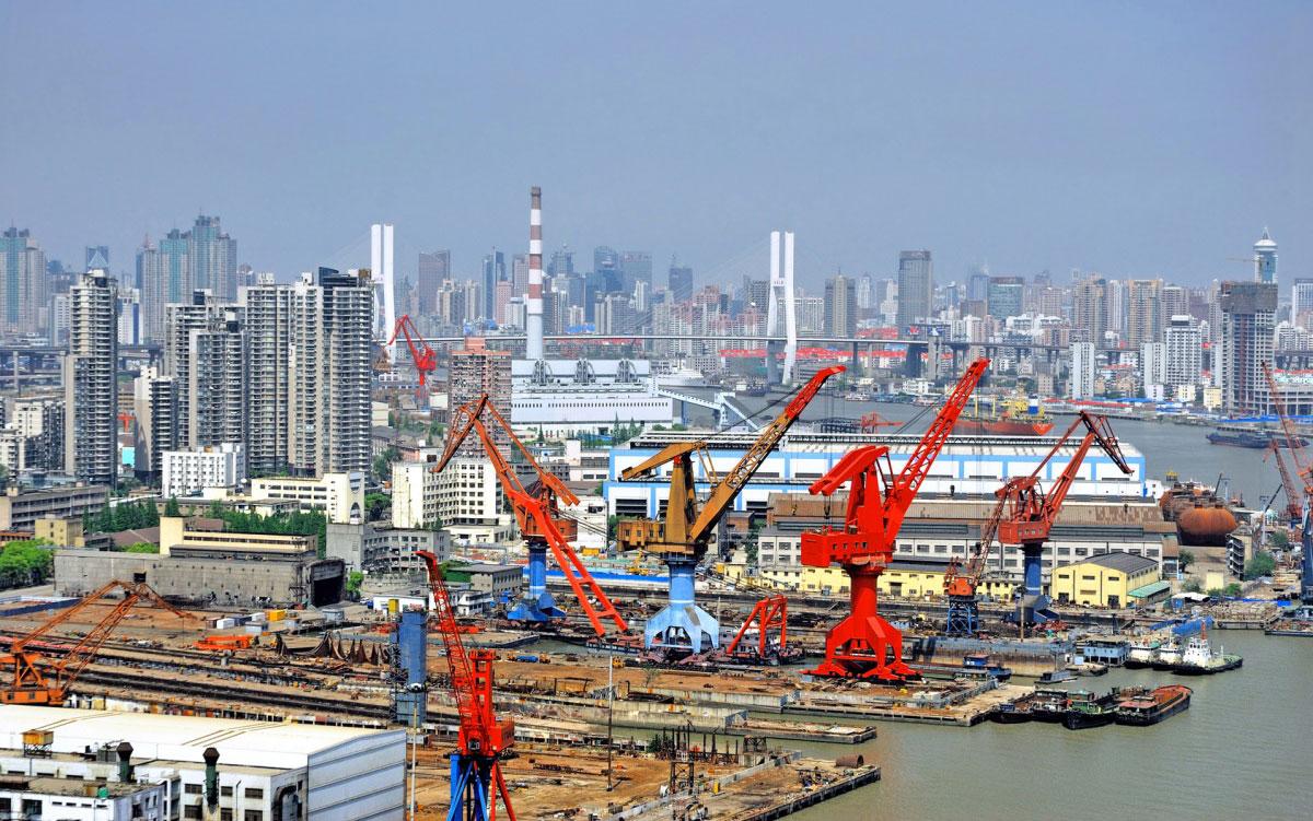 puerto shangai china