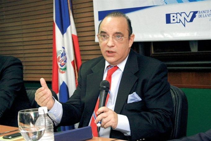 Federico Antún Batlle, ex gerente general del BNV y presidente del PRSC.