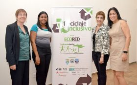 ECORED tiene dos años llevando a cabo la Iniciativa de Reciclaje Inclusivo.