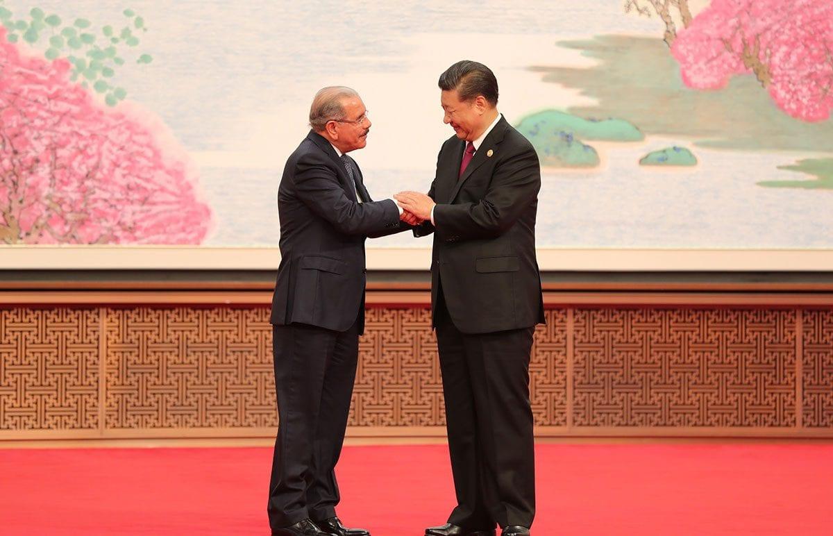 relaciones china rd
