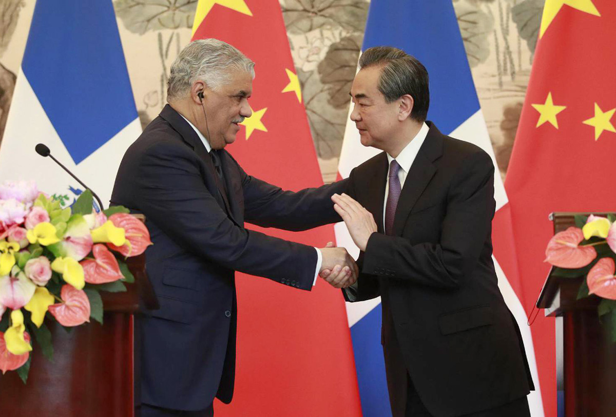 relaciones diplomaticas china republica dominicana