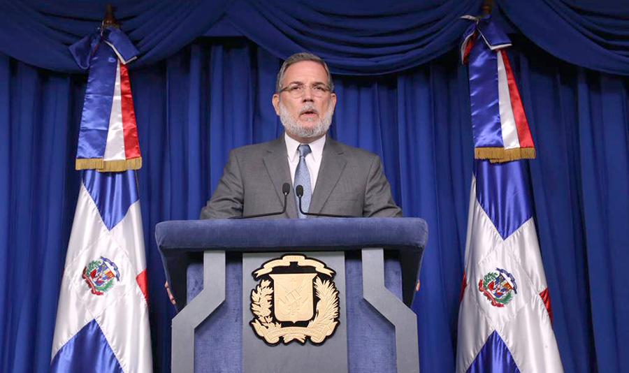 Roberto Rodríguez Marchena, vocero y director de comunicación de la Presidencia de la República.