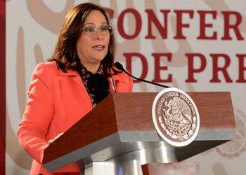 Rocío Nahle, titular de la Secretaría de Energía de México. | Fuente externa.