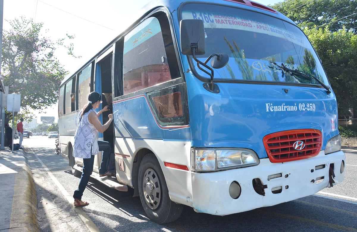 ruta transporte publico