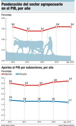 sector agropecuario pib