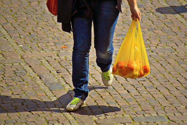 Bolsas plásticas, funda, compra