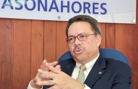 Simón Suárez, presidente de Asonahores.