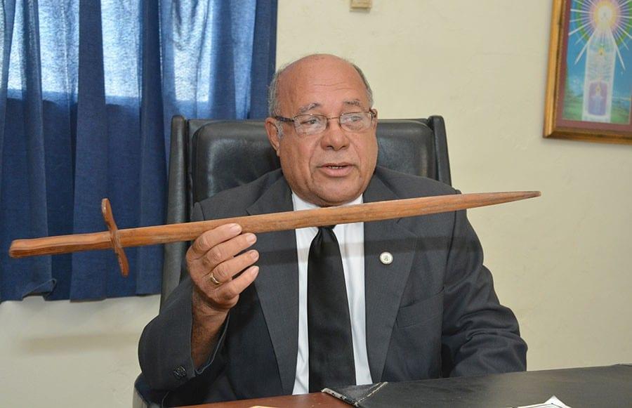 Sixto Danilo Brache, Gran Maestro de la Gran Logia.