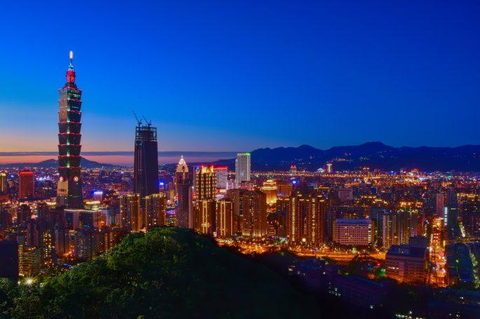 Ciudad de Taipei, en Taiwán