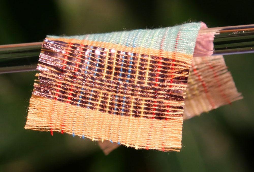 tejido que genera electricidad