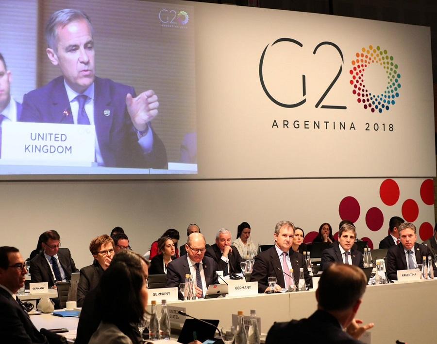 tercera reunión de ministros de finanzas del g20