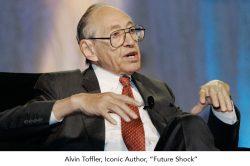 Alvin Toffler.