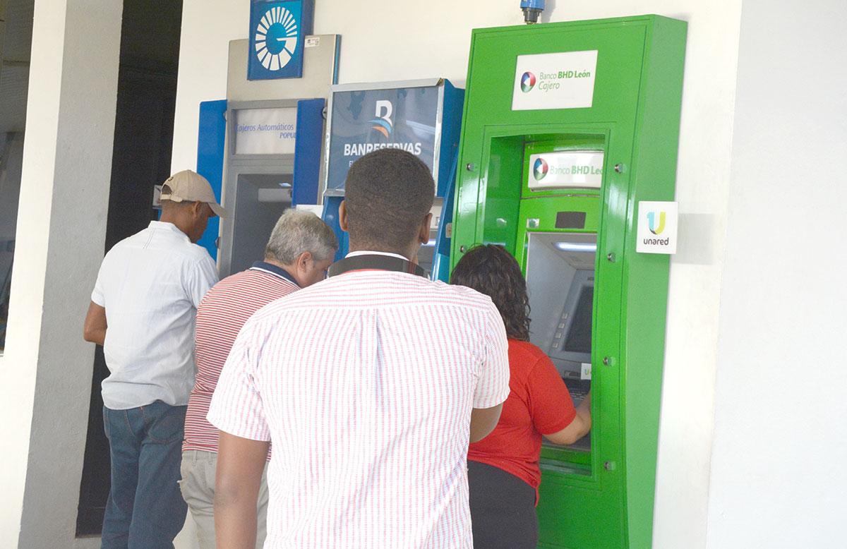 transacciones cajeros automaticos