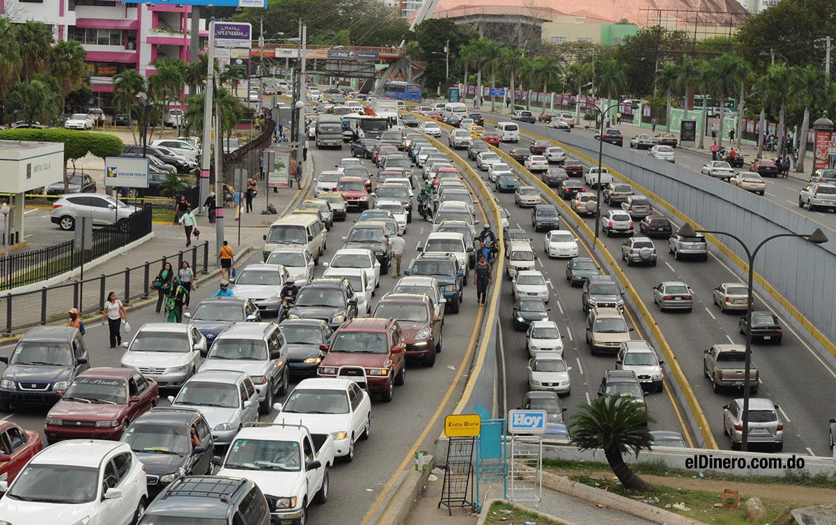 transito caotico taponamiento