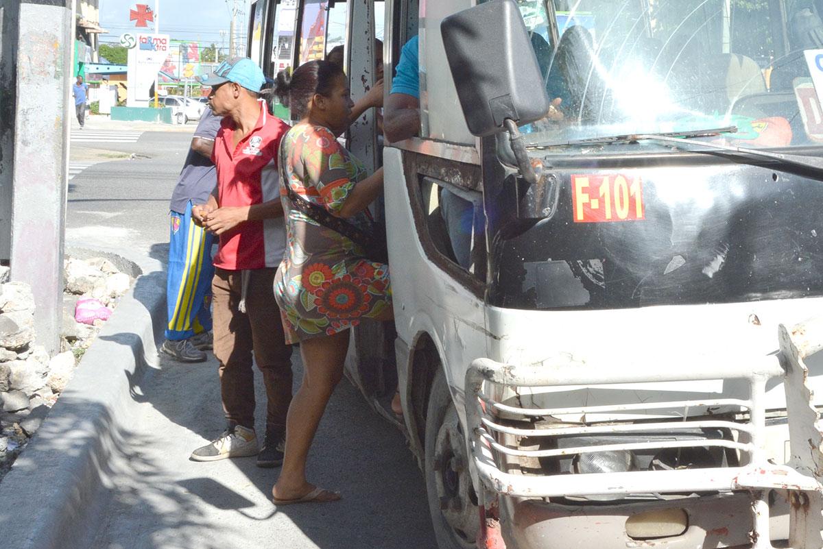 transporte publico pasajeros