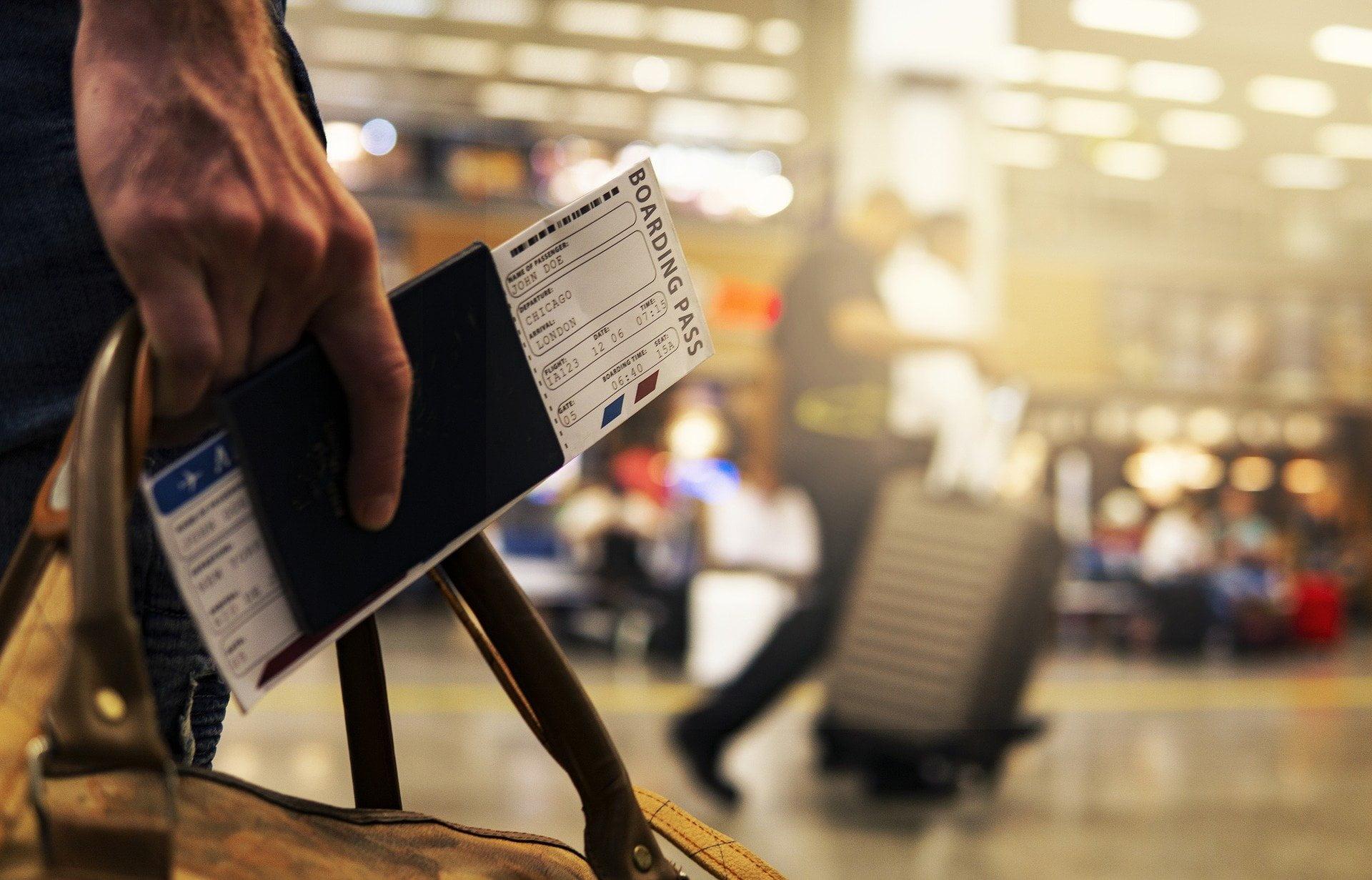 Pasaporte, viajes, vuelos