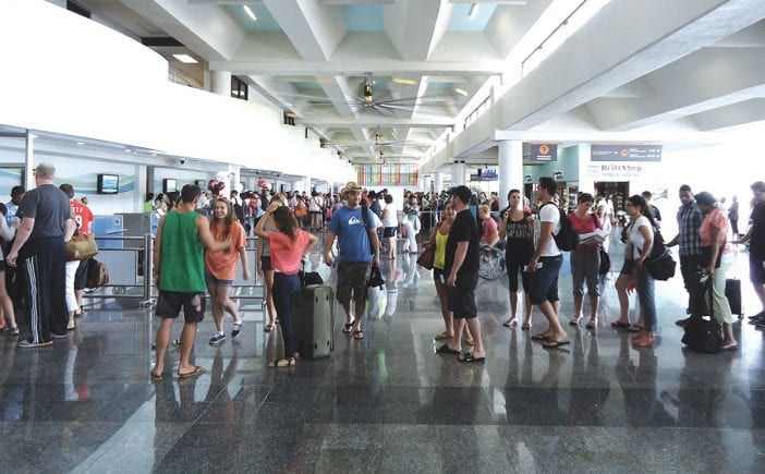 turismo llegada de turistas