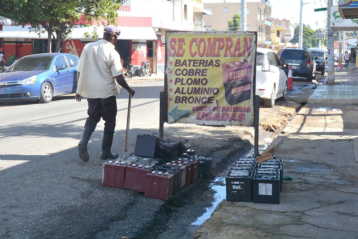 venta de baterias usadas