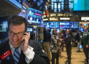 Wall Street cierra con ganancias. | Lucas Jackson, Reuters.